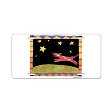 Star Dog Aluminum License Plate