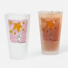 Westie/Star Drinking Glass