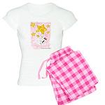 Wire Fox Terrier Star/Moon Women's Light Pajamas