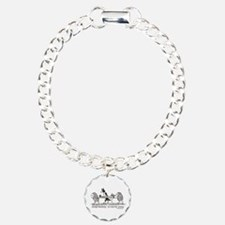 Sheep Herding Sissies Charm Bracelet, One Charm