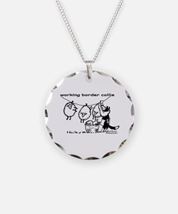 Working Border Collie Necklace