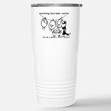 Working Border Collie Travel Mug