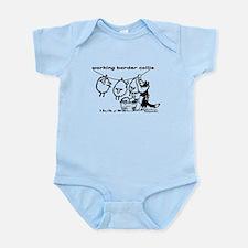 Working Border Collie Infant Bodysuit