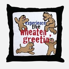 Wheaten Greetin' Throw Pillow