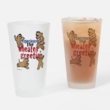 Wheaten Greetin' Drinking Glass