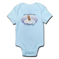 SCWT wrapped in gold Infant Bodysuit