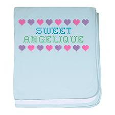 Sweet ANGELIQUE baby blanket