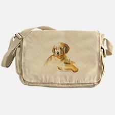 Golden Puppy - darling Messenger Bag