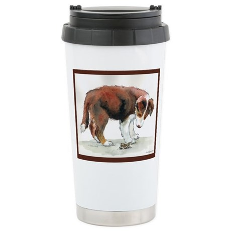Who Are You? Stainless Steel Travel Mug