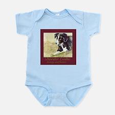Border Collie Beauty & Brains Infant Bodysuit