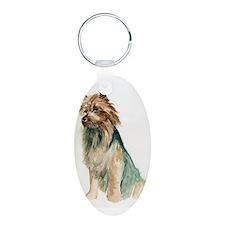 Australian Terrier sit Keychains