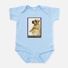 Red Australian Terrier Beg Infant Bodysuit