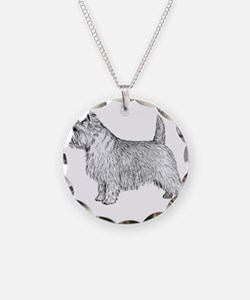 Cairn Terrier side Necklace