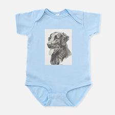 Flat Coated Retriever Infant Bodysuit