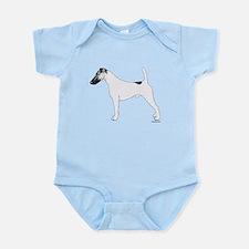 Fox Terrier Infant Bodysuit