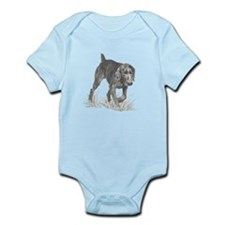 German Wire Hair Pointer Infant Bodysuit