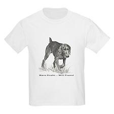 German Wire Haired Pointer sl T-Shirt