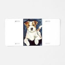 Jack Russell Terrier 2 Aluminum License Plate