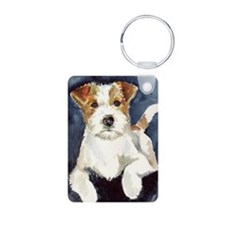Jack Russell Terrier 2 Keychains