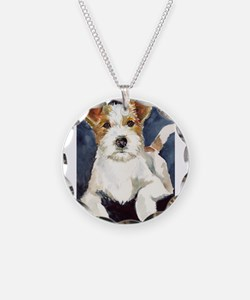 Jack Russell Terrier 2 Necklace
