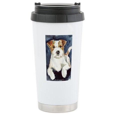 Jack Russell Terrier 2 Stainless Steel Travel Mug