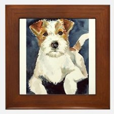 Jack Russell Terrier 2 Framed Tile