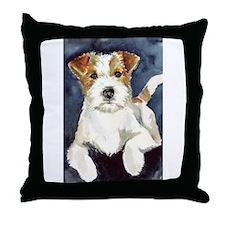 Jack Russell Terrier 2 Throw Pillow