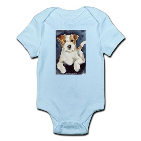 Jack Russell Terrier 2 Infant Bodysuit