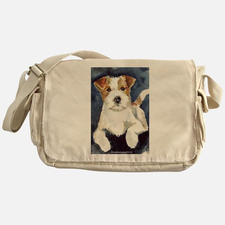 Jack Russell Terrier 2 Messenger Bag