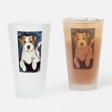 Jack Russell Terrier 2 Drinking Glass