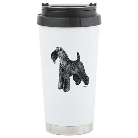 Kerry Blue Terrier Stainless Steel Travel Mug