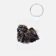 Puli 2 Aluminum Photo Keychain