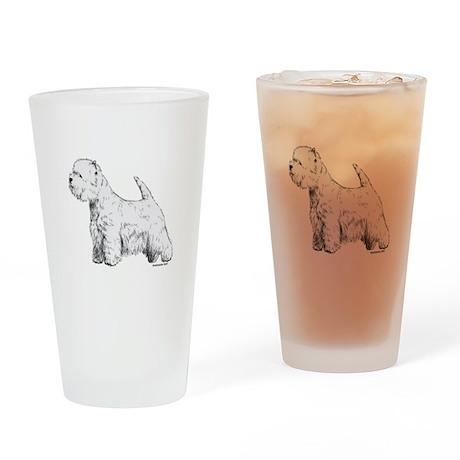 West Highland Terrier Drinking Glass
