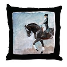 Dressage 1 Throw Pillow
