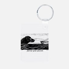 Pursue Your Passion Curly Coa Keychains