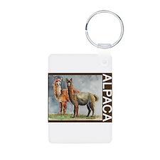 Alpaca Pair Keychains