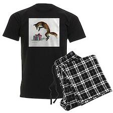 Fox and Present Pajamas