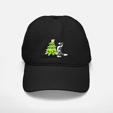 Border Collie Christmas Baseball Hat