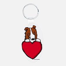 Red BC Valentine Keychains