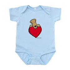 SCWT heart Infant Bodysuit