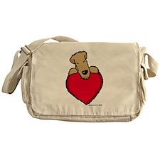 SCWT heart Messenger Bag