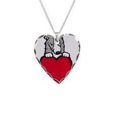 Blue Merle BC Valentine Necklace