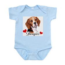 Love Beagles Infant Bodysuit