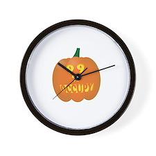 occupy pumpkin limited edition Wall Clock