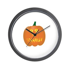 occupy pumpkin limited edition Wall Clock