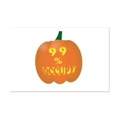 occupy pumpkin limited edition Posters