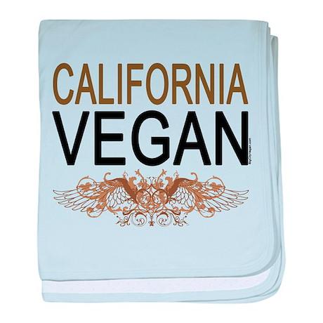 California Vegan baby blanket