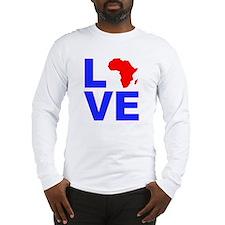 Love Africa Long Sleeve T-Shirt