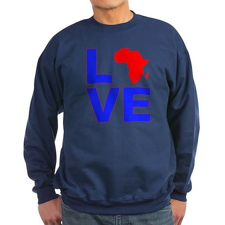 Love Africa Sweatshirt (dark)