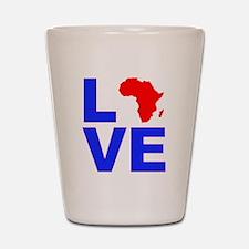 Love Africa Shot Glass